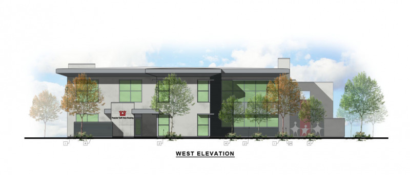 Kendall Corporate Office West Elevation