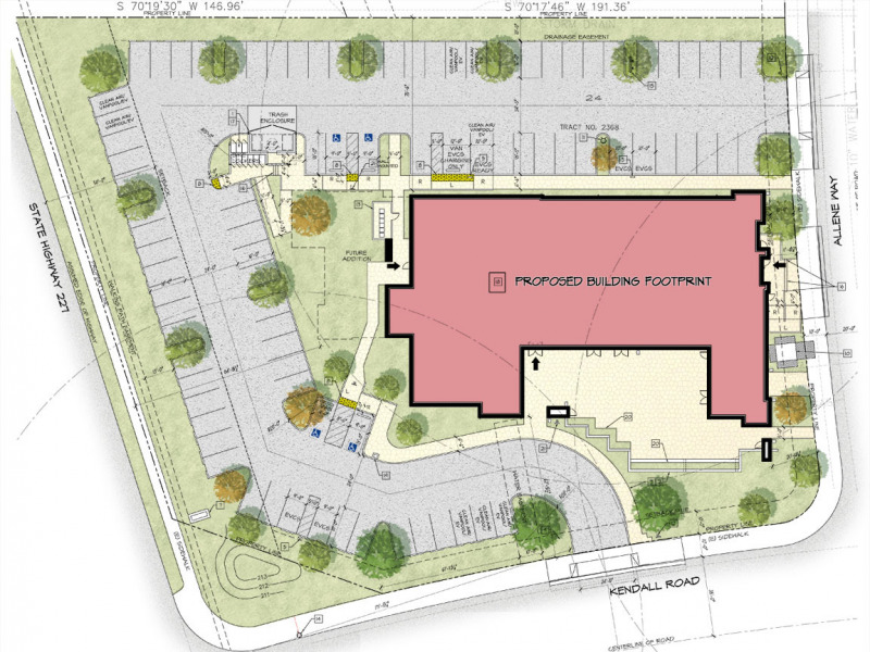 Kendall Corporate Office Site Plan
