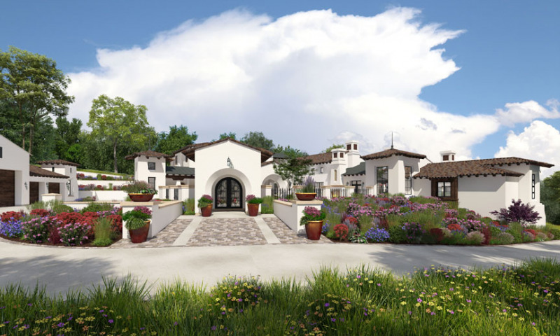 Rancho del Sol Entry Gatehouse View