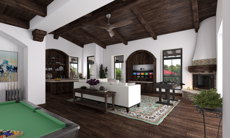 Rancho del Sol Game Room
