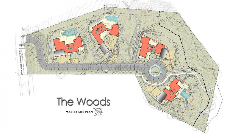 The Woods Site Plan