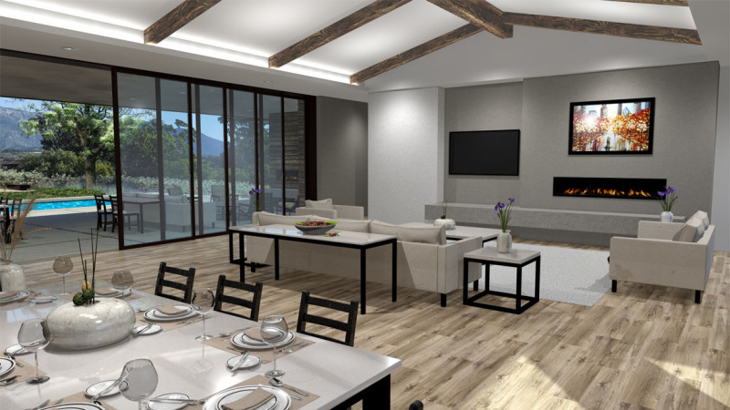 The Woods Lot 1 Dining / Great Room