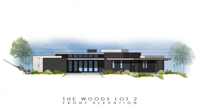 The Woods Lot 2 Front Elevation