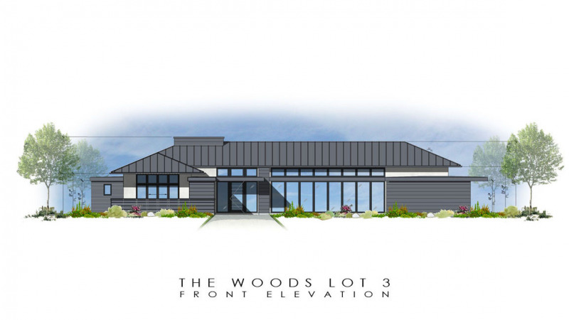 The Woods Lot 3 Front Elevation