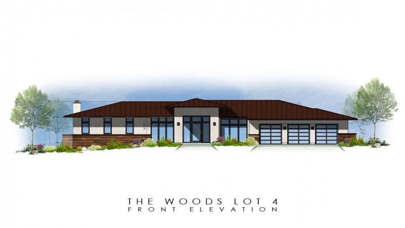The Woods Lot 4 Front Elevation